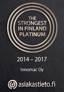Innomac Oy - The Strongest in Finland Platinum